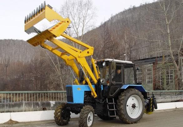 ковши челюстного типа для трактора мтз 82