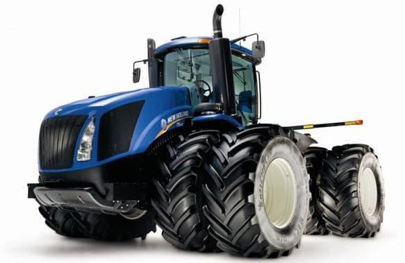 трактор нью холланд
