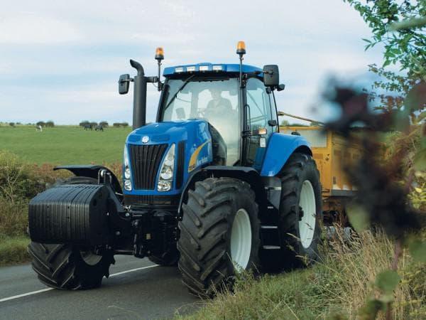 трактора нью холланд модельный ряд