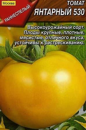 томат Янтарный