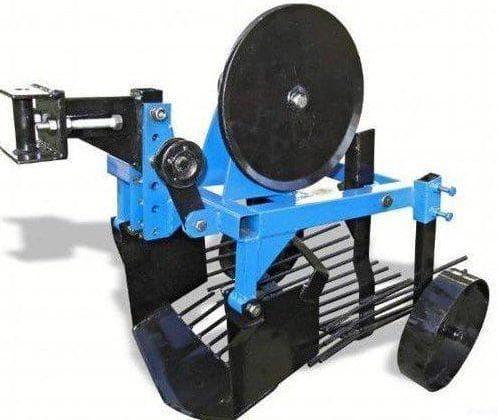 модель «Картофелекопатель вибрационный»