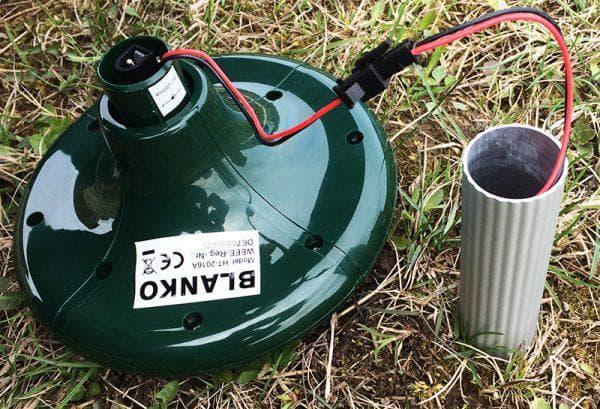 электрический отпугиватель для кротов