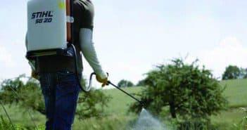 удаление сорняков гербицидами