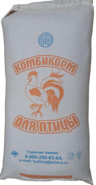 комбинированные корма для кур