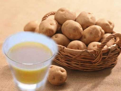 картофельный настой