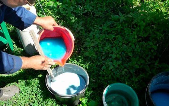 вода и хозяйственное мыло