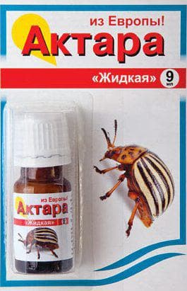 актара от жуков