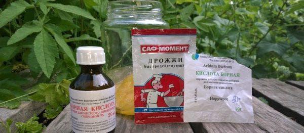 использование борной кислоты