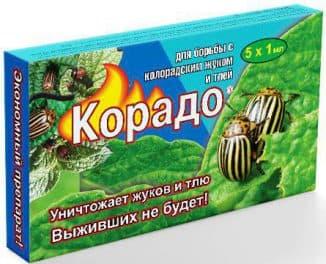 препарат корадо от колорадского жука