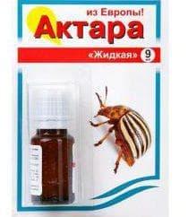 актара способ применения против колорадского жука