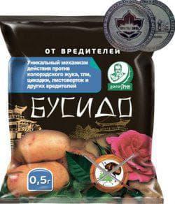 гранулы бусидо от жука