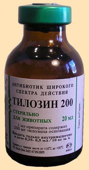антибиотик Тилозин
