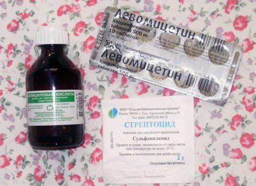 раствор стрептоцида