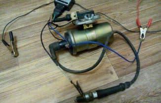 катушка зажигания от автомобиля для электропастуха