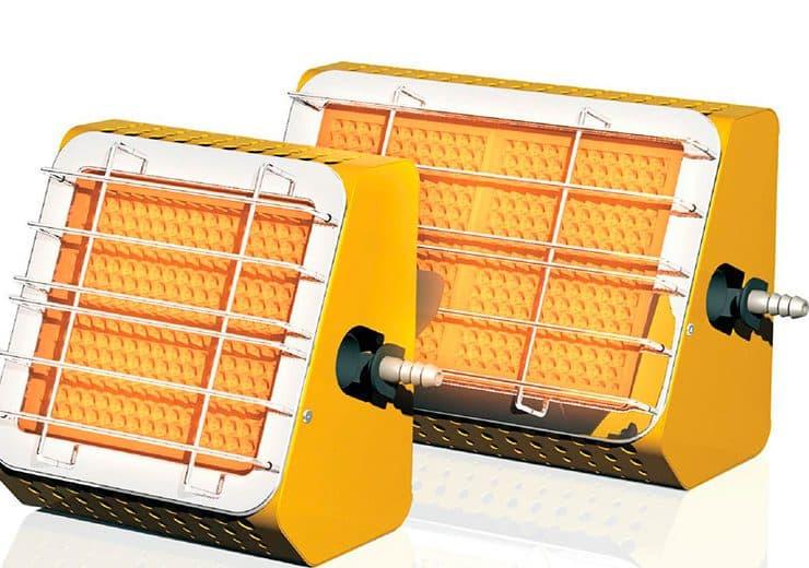 газовый инфракрасный обогреватель для теплиц