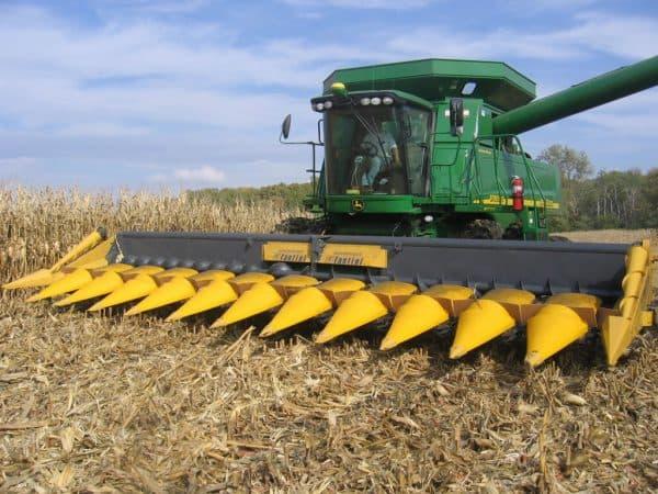 жатка для уборки кукурузы Fantini