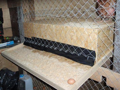 оборудование клетки для кур