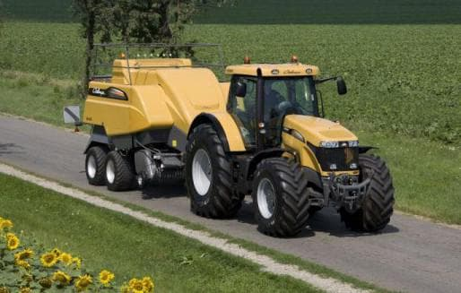 трактор челленджер МT 600C