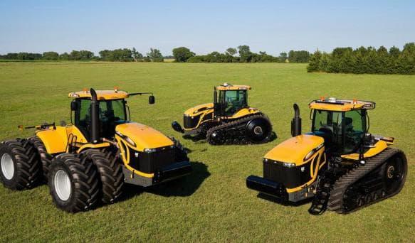 трактор челленджер МT 700C и MT 700D