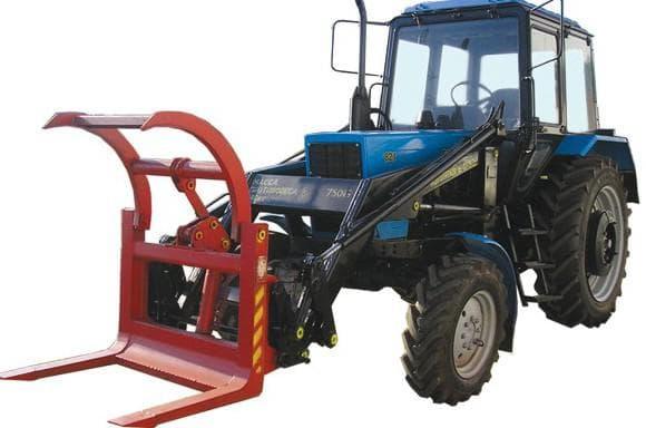 вилы для трактора мтз 82