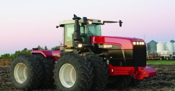 трактор Бюллер: рулевая колонка