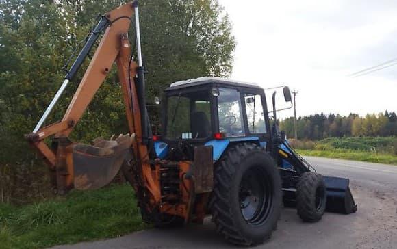 экскаватор для трактора мтз 82