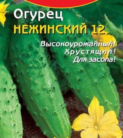 огурцы Нежинский 12