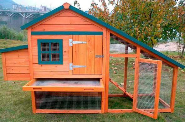 гнездо-будка для кур