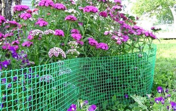 сетка-экран для огорода
