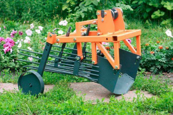 картофелекопалка для мотоблока нева Модель КВМ-3