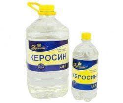 керосин и вода