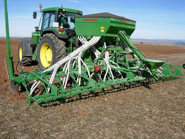 рядовая сеялка для посева зерновых культур